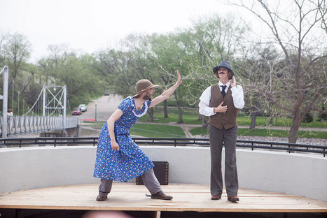 On the Minnesota River, 'paddling theater' offers entertainment and adventure | Social Studies 1-6 | Scoop.it