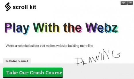 Scroll Kit, construye tu página web sin conocimientos sobre código | Cajón de sastre Web 2.0 | Scoop.it