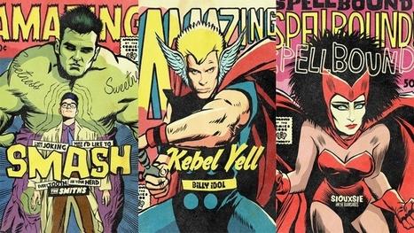 Le post-punk a maintenant ses superhéros | Wiseband | Scoop.it