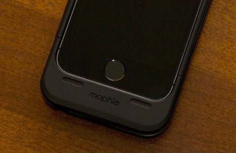 Review: Mophie's Space Pack doubles your iPhone's battery, storage, and size - Ars Technica   iPhone Cases   Scoop.it