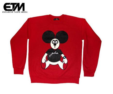 Genuine Ladies Red Mickey Crew | Exclusive Taste | streetwear | Scoop.it