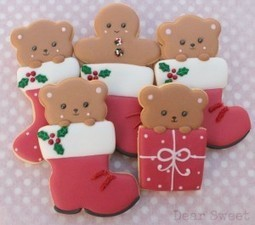 Comment on Christmas Bear in a Boot Cookies {Guest Post} by Michelle @ MakeMeCake.Me   Christmas Ideas and Gifts   Scoop.it