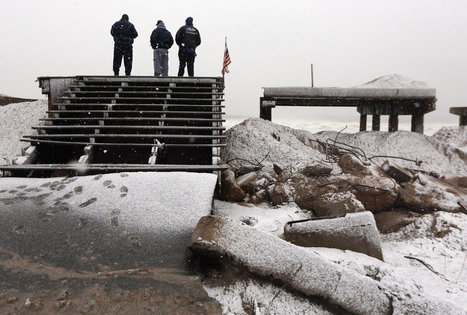 Après Sandy, une tempête hivernale frappe New York | TAHITI Le Mag | Scoop.it