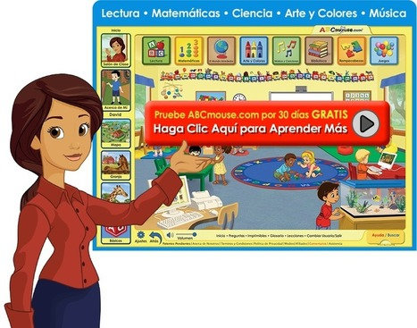 ABCmouse.com: Aprendizaje para Niños, Juegos Educativos, Lectura de Preescolar a Kínder | Learning English | Scoop.it