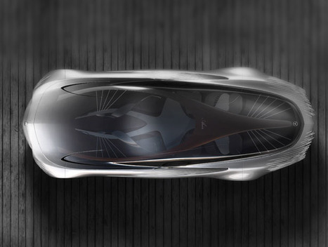 Futuristic Supersedan, Mercedes-Benz Aria | UtopianDynamics | Scoop.it