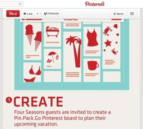 Four Seasons takes a new tack with Pinterest | marketing touristique | Scoop.it