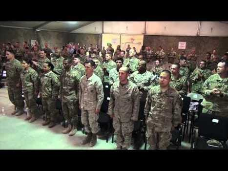 Military Videos of the World - Deployed Service Members Become US Citizens   Military Videos   Scoop.it