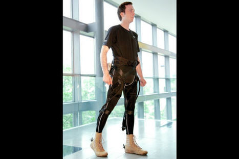 New wearable robotic exoskeleton gives you superhuman powers | Science is our friend | Scoop.it