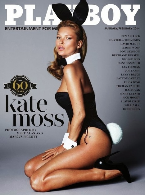 Kate Moss su PLAYBOY! - JHP by Jimi Paradise ™ | JIMIPARADISE! | Scoop.it