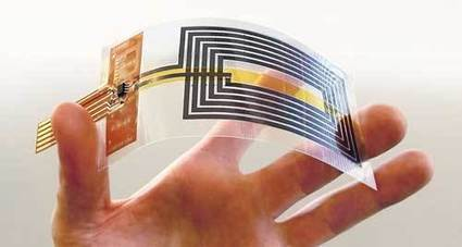 Graphene enables fully flexible near-field communication antennas | Nanoparticules & Poudres fines | Scoop.it