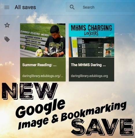 The Daring Librarian: NEW Google Image Search Save | Daring Ed Tech | Scoop.it