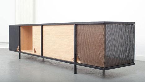 Rencontre de deux matériaux chaud et froid, le bois et l'acier : MIRAGE par le Studio Hekla | inoow design lab | Scoop.it
