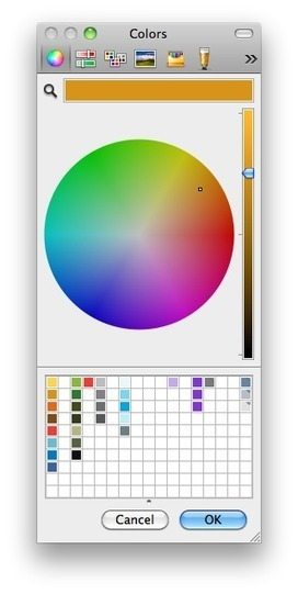 Unleashing Mac OS X's Color Picker in FileMaker   FileMaker   Scoop.it
