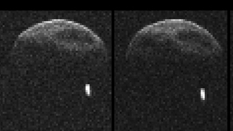 Big asteroid in flyby later today has its own moon - World - CBC News | tech | Scoop.it