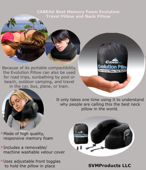Travel Pillow and Neck Pillow | Online Store to Get Quality Products | Scoop.it