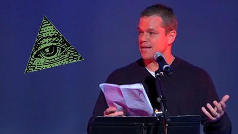 Matt Damon Goes Public Exposing The Illuminati & New World Order | anonymous activist | Scoop.it