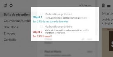 Objet emailing : prédictif et bonnes pratiques | Newsletters : conseils et bonnes pratiques | Scoop.it