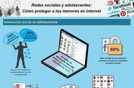 Una infografía que nos enseña cómo proteger a los menores en internet | Recull diari | Scoop.it