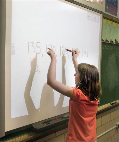 Goodbye chalkboard, hello SMARTboard   Technology in Schools   Scoop.it