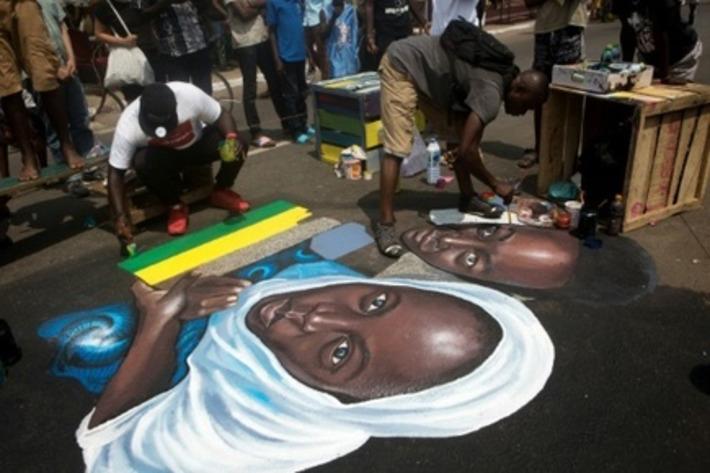 Ghana: l'art contemporain s'invite dans les rues d'Accra | Slate Afrique | Kiosque du monde : Afrique | Scoop.it