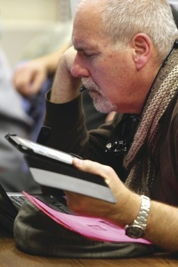 E-books bring patrons, challenges to libraries - Quad City Times   Leadership for Mobile Learning   Scoop.it