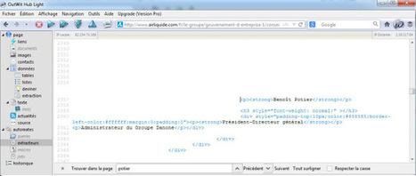Collecte automatisée de données sur une page web : web scraping | Time to Learn | Scoop.it