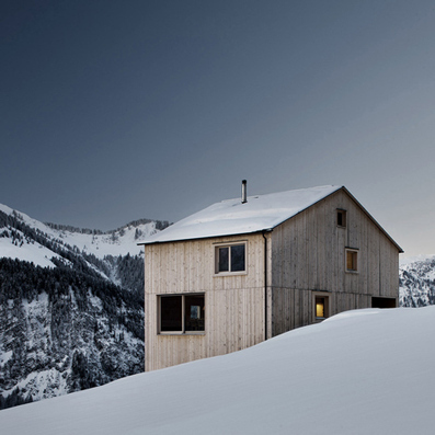 Bernardo Bader's Haus Fontanella is a chalet built from local wood | sustainable architecture | Scoop.it
