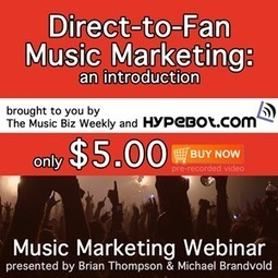 Direct to Fan Music Marketing - On Site Music Players & Digital Sales (video) | Collaboration sales and video | Scoop.it