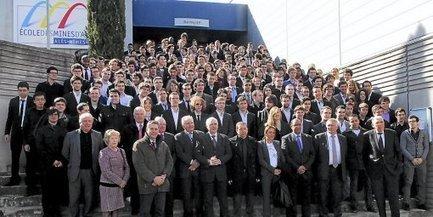 Alès : Un ancien élève parraine la promotion de l'EMA | Cévennes : économie et rayonnement | Scoop.it