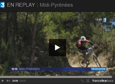 VTT enduro, une activité rentable à Ainsa - JT 12-13 Midi-Pyrénées du 04-03-2015 | Vallée d'Aure - Pyrénées | Scoop.it