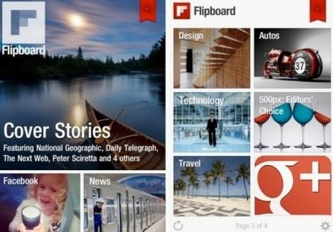 Flipboard integrará Google Plus en su lector | Cajón de sastre Web 2.0 | Scoop.it
