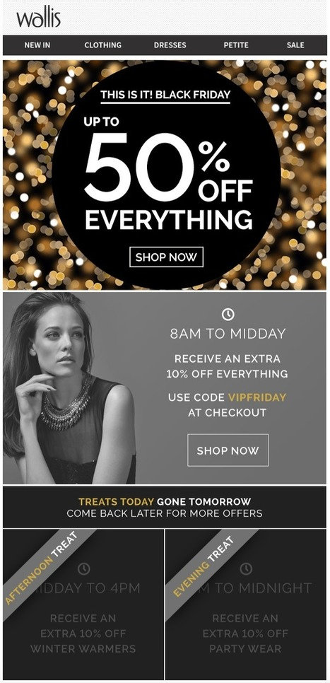It's Time to Start Building Your Black Friday Emails | Future of Retail | Scoop.it