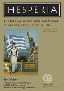 Special Hesperia Issue on Philhellenism Published / News / The American School of Classical Studies at Athens | Anthropology, Archaeology, and History | Scoop.it