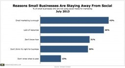 Email is Enough, Say 43% of Small Biz Social Holdouts | Communications and Social Media | Scoop.it