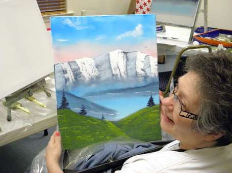 Riverdale resident continues to develop artistic ability while facing debilitating disease - NorthJersey.com | Assistive Technology ATA | Scoop.it