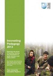 Innovating Pedagogy 2013 | Open University Innovations | Learning Technology News | Scoop.it