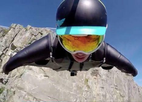 WATCH: This Sick Wingsuit Flight Will Get Your Adrenaline Pumping | Deranged News | Scoop.it