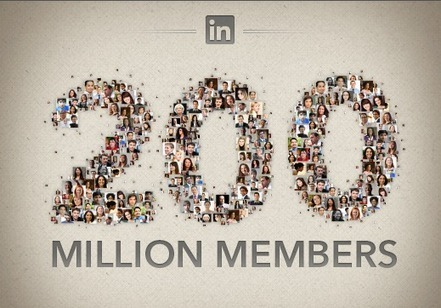 200 Million Members! | Official LinkedIn Blog | sabkarsocialmediaInfographics | Scoop.it