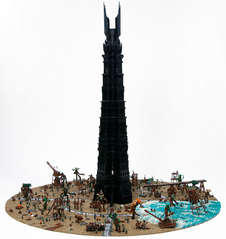 The Last March of the Ents Immortalized in LEGOs | All Geeks | Scoop.it