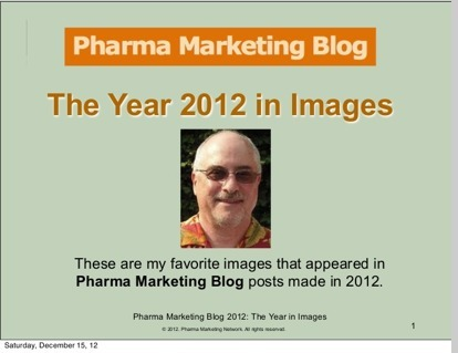 Pharma Marketing Blog: Pharma: The Year 2012 in Images | New pharma | Scoop.it