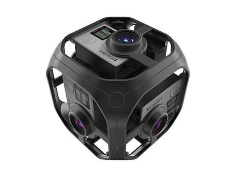 Omni : la caméra VR de GoPro se dévoile | Numeric Sapiens | Scoop.it