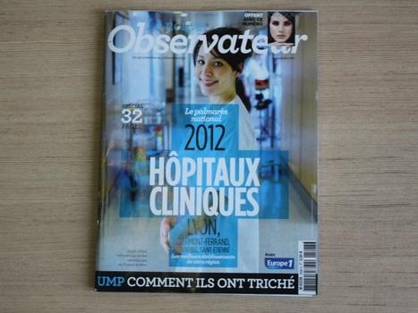 Palmarès national des hôpitaux : deux établissements lyonnais dans le Top 10 | Hospices Civils de Lyon | Scoop.it
