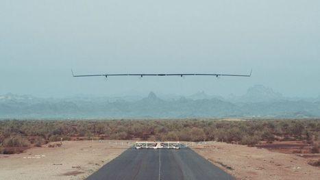 Aquila, le drone de Facebook qui veut apporter Internet au monde entier, a réussi son premier vol | Drone | Scoop.it