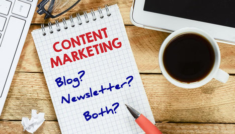 Blogging or Newsletters or Both? Content Marketing Options | Inbound & Relationship Marketing | Scoop.it