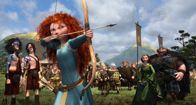 Hunt for Scotland's real-life Princess Merida to go to Brave premiere   Culture Scotland   Scoop.it