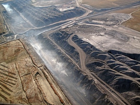 Aerial views of coal mining operations in Wyoming | Sustainability Science | Scoop.it