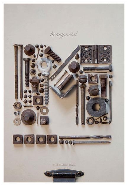 design work life » Tom Davie: 2011 Typographic Posters | Visual Inspiration | Scoop.it