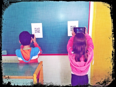 QR codes in the classroom: 8 Ideas for any classroom setting. | Technology and language learning | Scoop.it