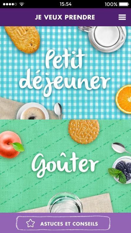 L'appli de la semaine : I love Biscuits, l'application des goûters et petits déjeuners Mondelez | meltyFood | santé, alimentation, cosmétique, beauté, innovation | Scoop.it