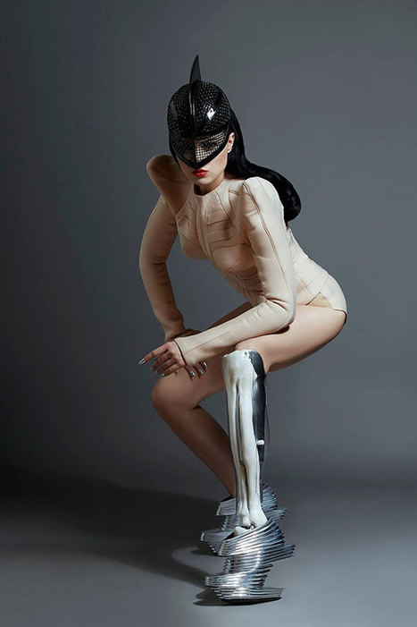 World's First Amputee Pop Star And Model Shows Off Her Badass Prosthetics In Music Video | Life in Progress | Scoop.it